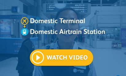 Domestic Terminal – Domestic Airtrain Station